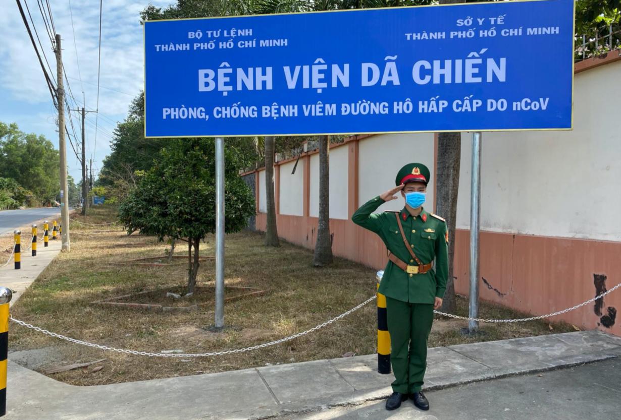 Bệnh viện dã chiến của thành phố Hồ Chí Minh được vận hành thế nào? - Ảnh 1.